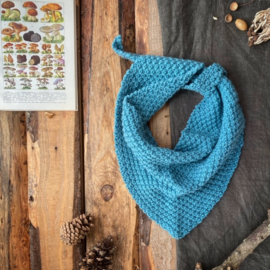 Triangle Scarf Sky Blue