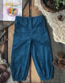 Corduroy Trousers Petrol