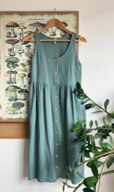 Spring / Summer Dress Double Gauze Mint