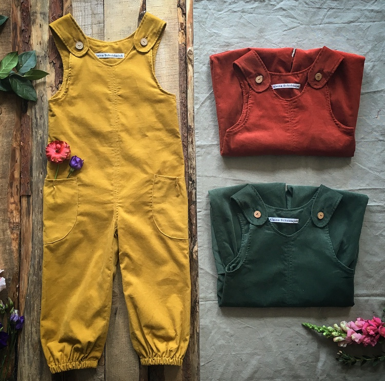 Jumpsuit Ochre Yellow