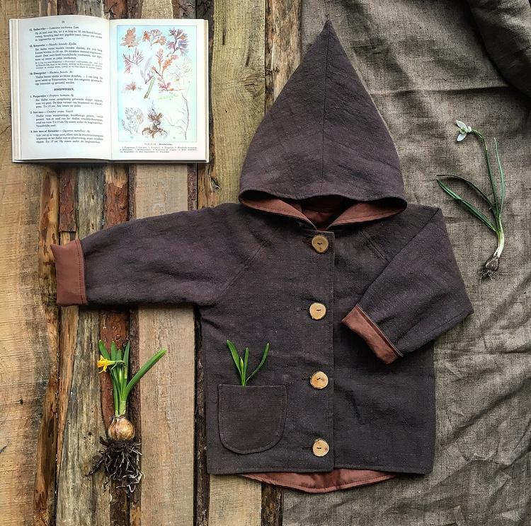 Linen Jacket Brown