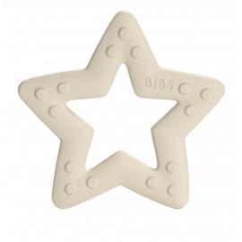 BIBS TEETHER STAR IVORY