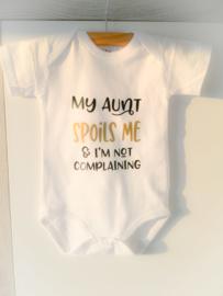 AUNT SPOILS ME