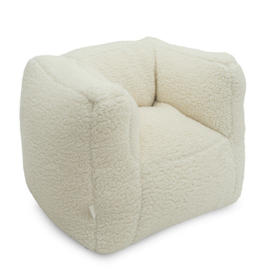 FAUTEUIL BEANBAG TEDDY - OFF WHITE