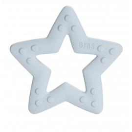 BIBS TEETHER STAR BABY BLUE