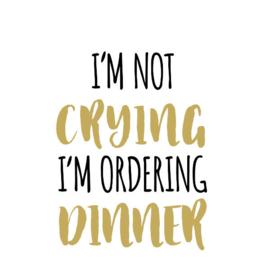 ORDERING DINNER
