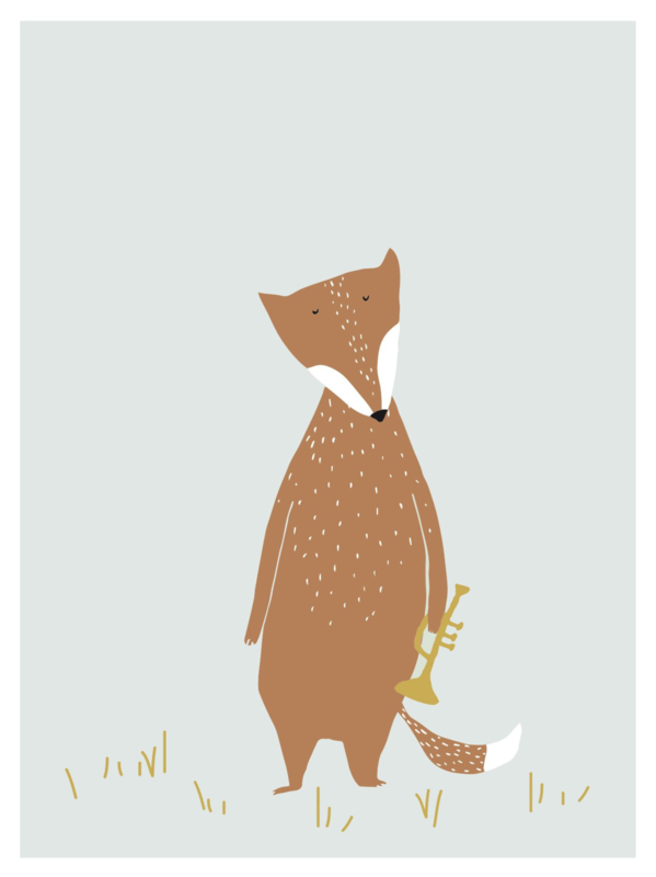 TRIXIE BABY POSTER - MR. FOX