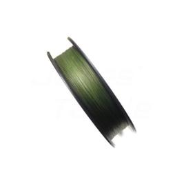 Gevlochten X8 lijn Dark Green