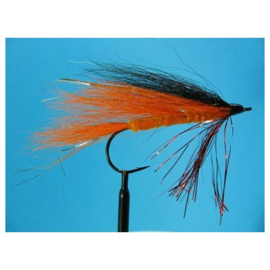 Snoekstreamer Bucktail Black/orange