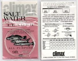 Climax Salt Water Duramax Leaders