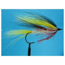 Snoekstreamer Bucktail Yellow/black