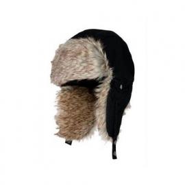 Eiger Fur Hat Black