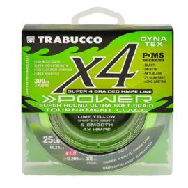 Trabucco X4 Power gevlochten lijn