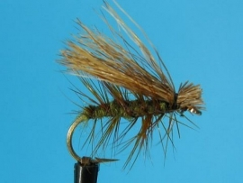 Elk Hair Caddis Olive Body