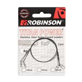 Robinson Titan Power Stalen onderlijn met coating