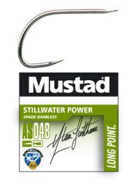 Mustad Stillwater Power AS04B barbless