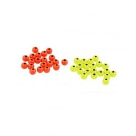 Fluo Brass Beads