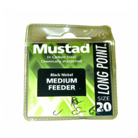 Mustad Medium Feeder haken maat 12
