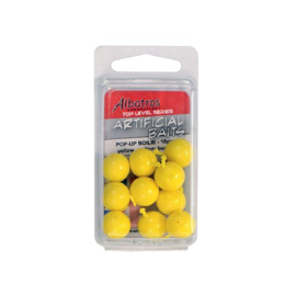 Albatros Artificial Baits Pop-Up Boilies Yellow