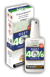 Travel DEET Spray 40%