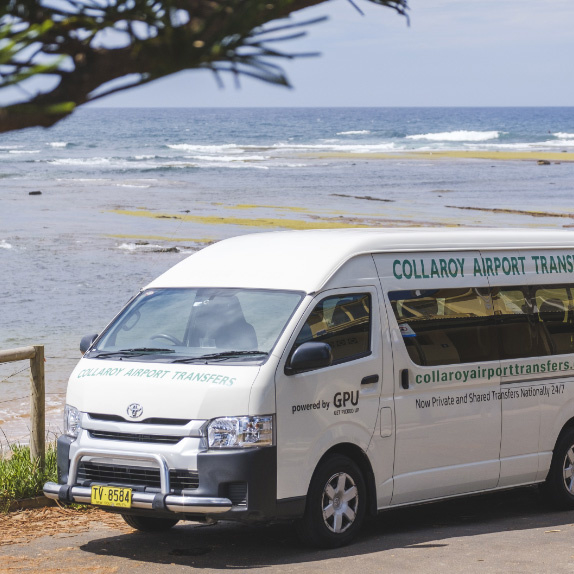 Sydney Airport transfer (shuttle) to Sydney Beach Hostel (Collaroy)