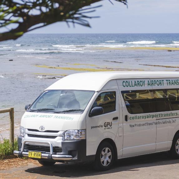 Sydney Airport transfer (shuttle) to Sydney Beach Hostel (Collaroy)