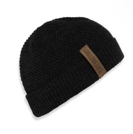 Beanie Knit Factory. Zwart