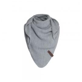 Sjaal/omslagdoek KIDS MAAT van het mooie merk Knit Factory.  Grijs