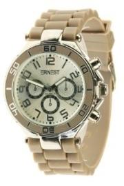 Horloge Ernest, Camel-Silver.
