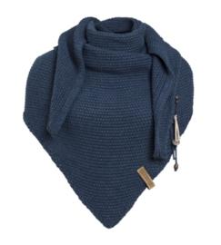 Sjaal/omslagdoek van het mooie merk Knit Factory.  Jeans