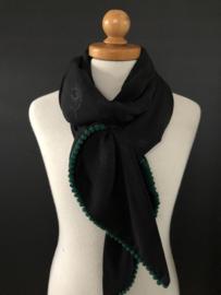 Black leopard beauty / groen bolletjes tape.