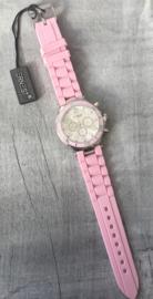 Horloge Ernest, Baby Roze-Silver.