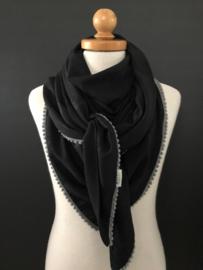 Black leopard beauty / grijs bolletjes tape. LEVERTIJD; 1 WEEK