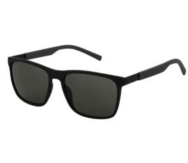 Zonnebril medium maatje. Zwart met zwarte glazen.