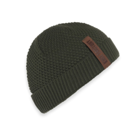 Beanie Knit Factory. Khaki (army green)