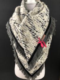 Couture omslagdoeken (handgemaakt)