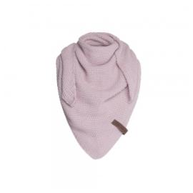 Sjaal/omslagdoek KIDS MAAT van het mooie merk Knit Factory. Roze