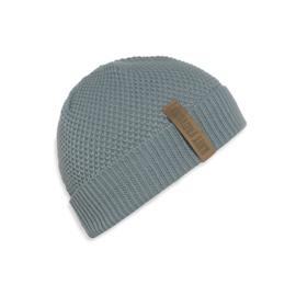 Beanie Knit Factory. Oud blauw (stone green)