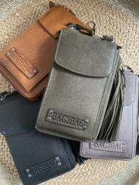 Bag 2 Bag  kleine verticale porto/telef tasje Tennessee , écht leer.