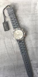 Horloge Ernest, Dark grey-Silver