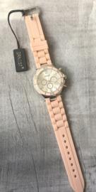 Horloge Ernest, Nude-Silver