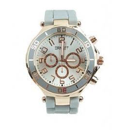 Horloge Ernest, Oud Blauw-Rosé.