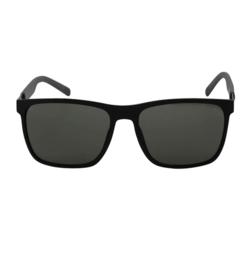 Zonnebril medium maatje. Kan ook voor Heren! Zwart met zwarte glazen.