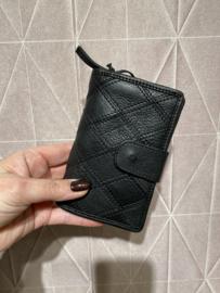 """Bag 2 Bag portemonnee, """"Madrid"""" écht leer. Zwart. Limited Edition."""
