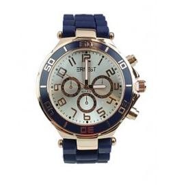 Horloge Ernest, Navy-Rosé.