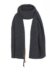 Sjaal Luna, van het mooie merk Knit Factory. Donkergrijs