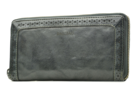 "Bag 2 Bag grote portemonnee ""Waco"" écht leer. Limited Edition Zwart"