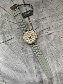 Horloge Ernest, Grijs-Rosé.