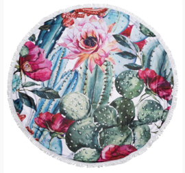 "Biba Roundie, strandlaken ""Cactus/Bloem"""