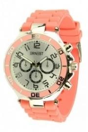 Horloge Ernest, Koraal-Silver.